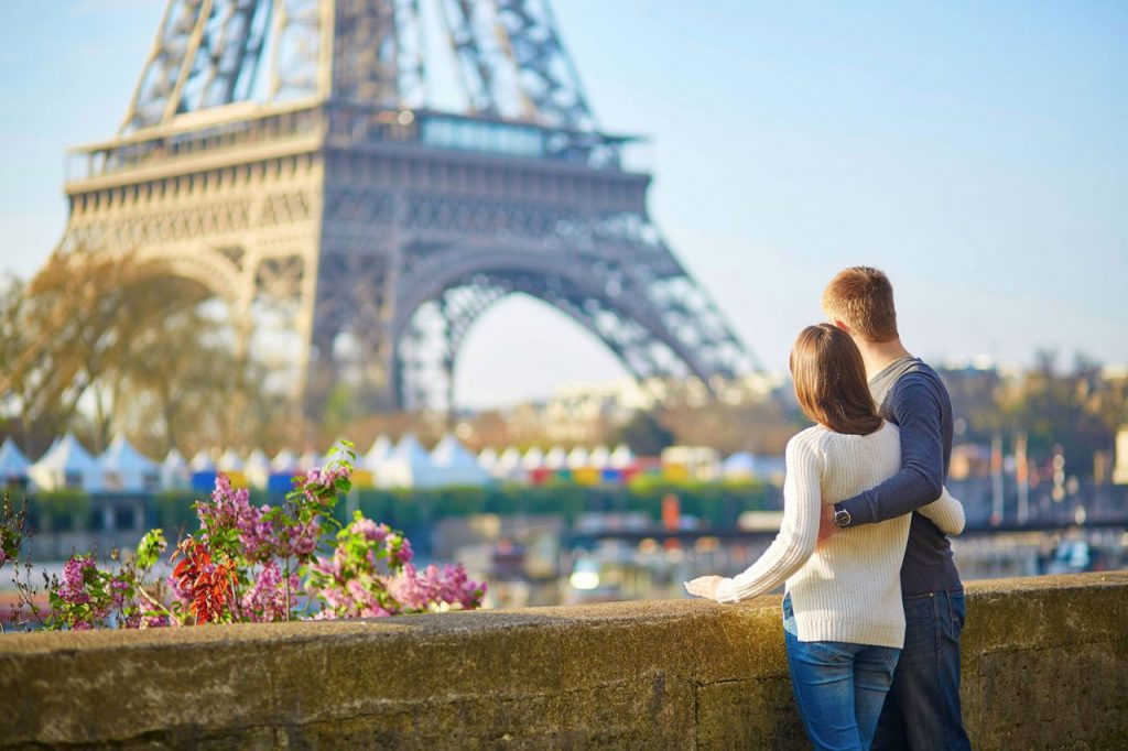 romantic in paris
